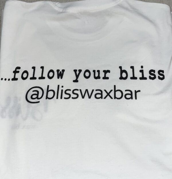 Follow Your Bliss Cotton Tee sthir